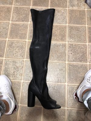 Thigh high boot heels for Sale in Roanoke, TX