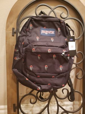 Jansport backpack red rose for Sale in San Dimas, CA