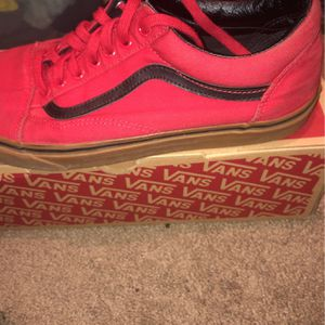 Old Skool Gum Red Vans Size 11 for Sale in Tempe, AZ