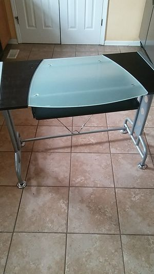 Wood and Glass Student PC desk for Sale in Bell Buckle, TN