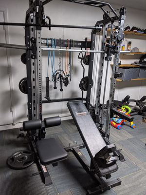 Force USA g3 rack ........barbell ... bench and weights not included for Sale in Chandler, AZ