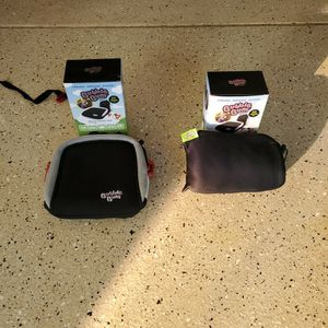 2 Bubble Bum Inflatable Travel Kids Booster Seat - GREAT CONDITION! for Sale in Huntington Beach, CA
