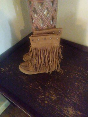 Fringe boots for Sale in Tulsa, OK