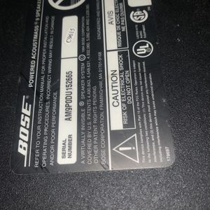 Bose Acoustimass Subwoofer no wires for Sale in Cheltenham, PA