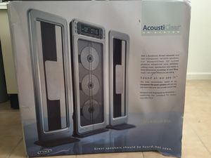 Brookstone AcoustiClear 3-Disc Stand up CD Player for Sale in Richmond, CA