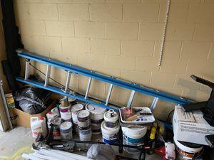 20' Werner Fiber Glass Ladder (ONLY) for Sale in Melbourne, FL