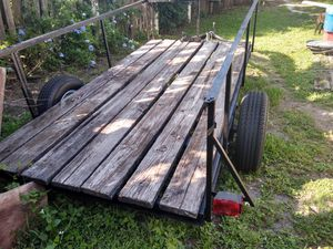 6x11ft trailer brand new rims and tires for Sale in Sarasota, FL