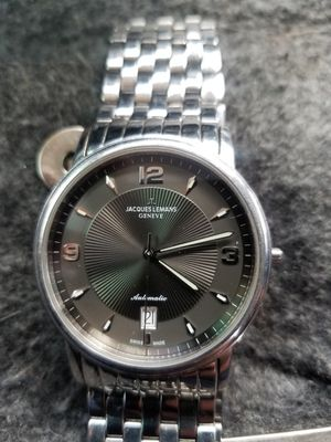 Jacques LeMans Geneve automatic g138 sapphire crystal for Sale in Rohnert Park, CA