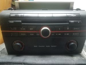 2008 Mazda OEM radio (for parts) for Sale in Gardena, CA