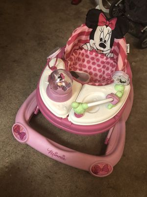 Baby Walker (Minnie Mouse ) for Sale in Washington, DC