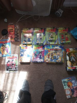 I have this collection of Dragon Ball Z action figures it's collectible items for Sale in Greensboro, NC
