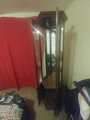 Corner Curio Cabinet for Sale in NEW PRT RCHY, FL