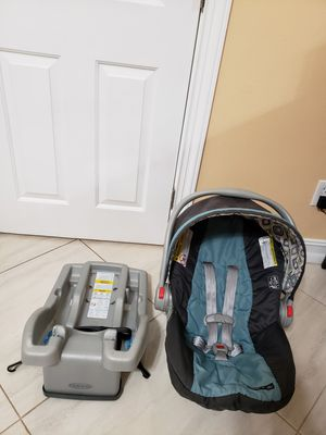 Graco car seat with base for Sale in Tampa, FL