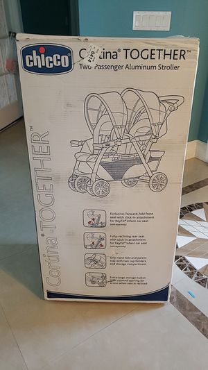 Chicco cortina together aluminum stroller for Sale in West Palm Beach, FL