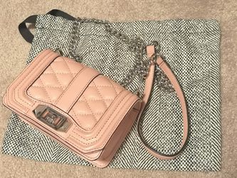 REBECCA MINKOFF mini love crossbody bag pink for Sale in Revere,  MA