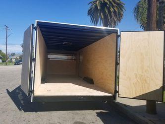 8-1/2 x 24 x 7 Enclosed Cargo Trailer for Sale in Diamond Bar,  CA