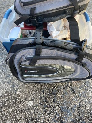 First gear saddlebags for motorcycle! for Sale in Bucyrus, OH
