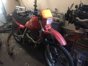 83 Honda xl600r Enduro dirt bike for Sale in Gold Bar, WA