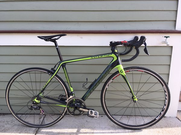 Cannondale Synapse 54CM Carbon Fiber Road Bike Bicycle