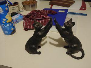 Cast iron cat bookends for Sale in Salem, VA