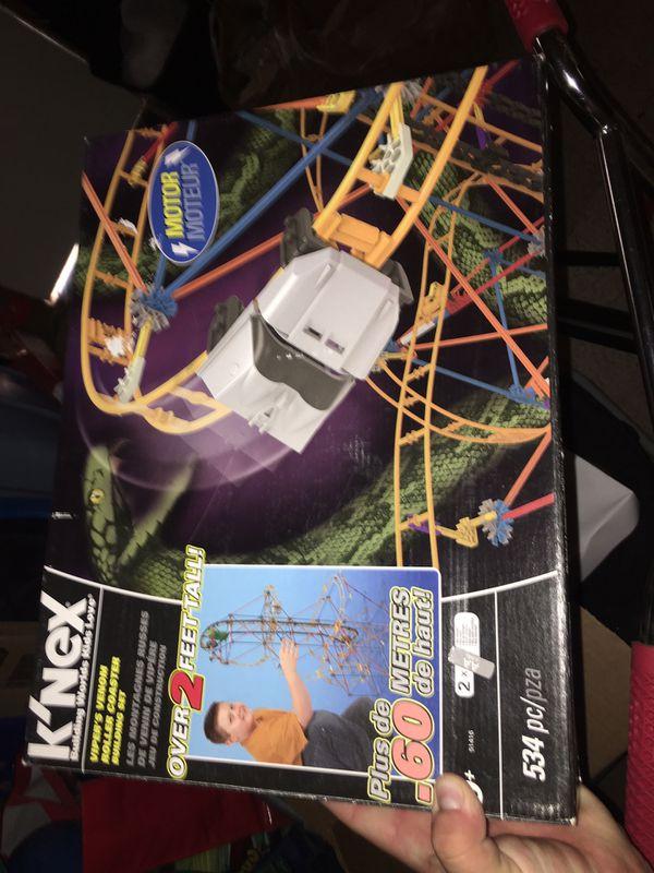 Knex rollercoaster 🎢