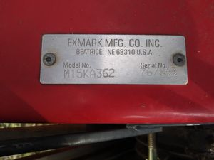 Exmark commercial 36 in mower for Sale in Crowley, TX