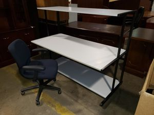 Computer Desk w/chair JUST $99 for Sale in Wilmington, DE