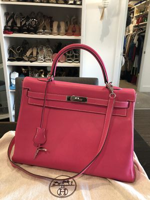 Hermès Kelly Pink. 100% real bag accept any check for Sale in Los Angeles, CA