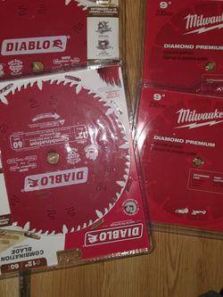 "2 Milwaukee Daimon Blade 2 12"" Wood Blade for Sale in Woodinville,  WA"