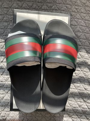 Gucci slides size 12 brand new for Sale in Gilbert, AZ