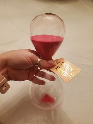 Pink hourglass ⌛ for Sale in Rockville, MD