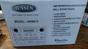 Jensen rv wall mount radio - new for Sale in Buffalo, NY