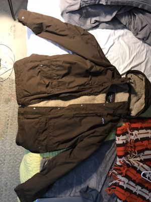 Patagonia, sherpa lined snow jacket for Sale in Orlando, FL