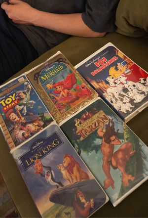 Walt Disney Classic VHS Movies for Sale in Tustin, CA