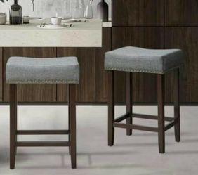 Set of 2 Saddle Stools for Sale in Brea,  CA