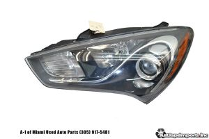 13 14 15 16 Hyundai Genesis Coupe oem Left Xenon HID Headlight Assembly for Sale in Hialeah, FL