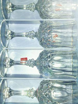 4 Crystal Wine Glasses for Sale in Fairfax, VA