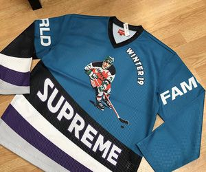 Supreme large hockey crossover jersey DS for Sale in Oakland, CA