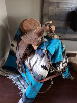 Older saddle for Sale in Fletcher, OK
