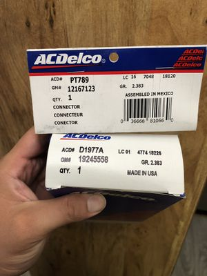 AC Delco Ignition Control Module and Connector for Sale in Glendale, AZ