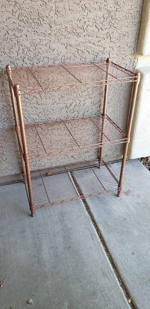 Copper baker's rack for Sale in Sun City, AZ