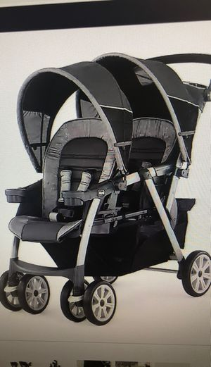 Chicco Cortina Together Double Stroller for Sale in Ontarioville, IL