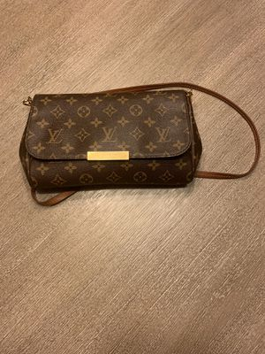 123456789101112 Louis Vuitton Favorite Pm Brown Coated Canvas Cross Body Bag for Sale in Union City, GA