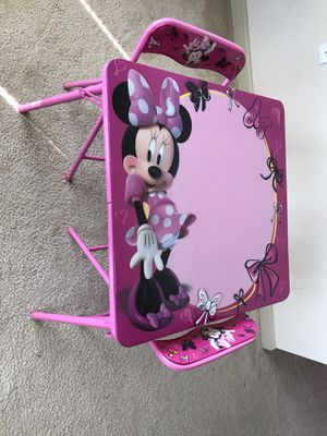 Minnie Mouse Toddler Table Set for Sale in Atlanta, GA