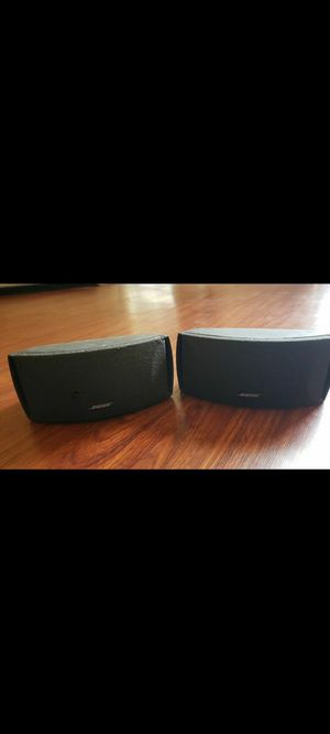 Two Bose speakers only for Sale in Clermont, FL