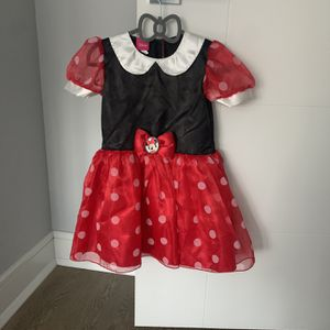 Minnie Mouse Costume Dress Size 3T for Sale in Edison, NJ