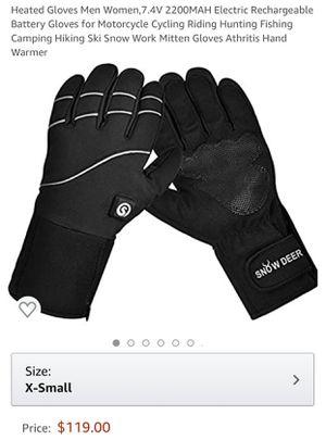 Gloves Men Women, Electric Rechargeable. for Sale in Glendale, AZ