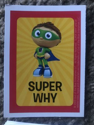 Educational Cartoon: Super Why! ABC Letter Board game for Sale in Brea, CA