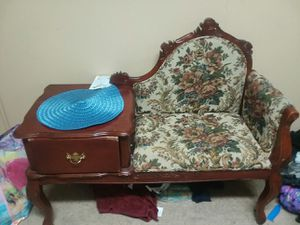 Antique phone chair for Sale in Lebanon, PA