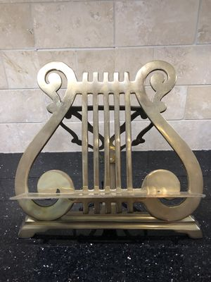 Solid Brass Piano Lectern for Sale in Gaithersburg, MD